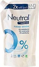 Парфюмерия и Козметика Гъст сапун - Neutral 0% Hand Wash (пълнител)
