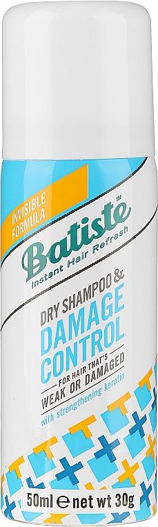 Сух шампоан с кератин - Batiste Dry Shampoo Damage Control