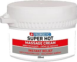 Парфюмерия и Козметика Масажен крем за тяло със силно загряващ ефект - Pasmedic Super Hot Massage Cream