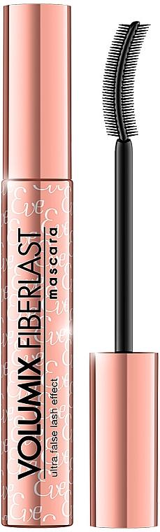 Спирала за мигли - Eveline Cosmetics Volumix Fiberlast Mascara