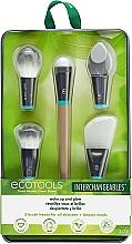 Парфюмерия и Козметика Комплект четки за грим - EcoTools Wake Up and Glow Brush Set