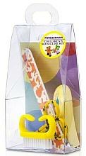 Парфюмерия и Козметика Детски комплект за маникюр, 4021-1, 4 бр., жълт - Tweezerman Baby Manicure Kit