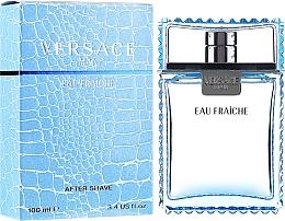 Парфюмерия и Козметика Versace Man Eau Fraiche - Лосион след бръснене