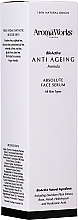 Парфюмерия и Козметика Серум за лице - AromaWorks Absolute Face Serum