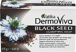 Парфюми, Парфюмерия, козметика Противовъзпалителен сапун с черен кимион - Dabur Vatika Black Seed Soap