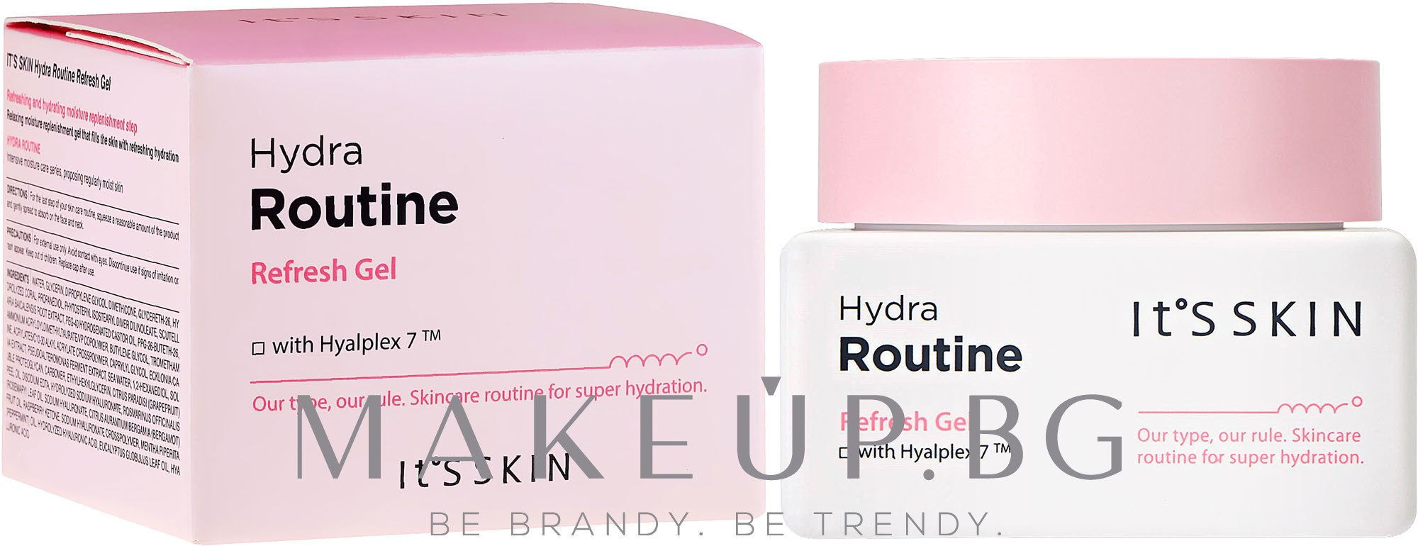 Овлажняващ гел за лице - It's Skin Hydra Routine Refresh Gel — снимка 50 ml