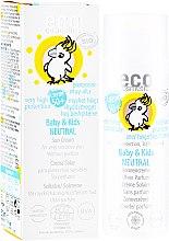 Парфюмерия и Козметика Детски слънцезащитен крем - Eco Cosmetics Baby&Kids Sun Protection Cream SPF 50+