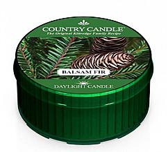 Парфюмерия и Козметика Ароматна чаена свещ - Kringle Candle Balsam Fir