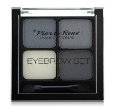 Парфюмерия и Козметика Сенки за моделиране на веждите - Pierre Rene Eyebrow Set