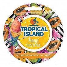 "Парфюми, Парфюмерия, козметика Скраб за лице ""Папая"" - Marion Tropical Island Papaya Face Scrub"