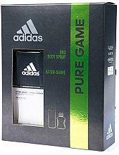 Парфюми, Парфюмерия, козметика Adidas Pure Game - Комплект (део/150ml + душ гел/50ml)