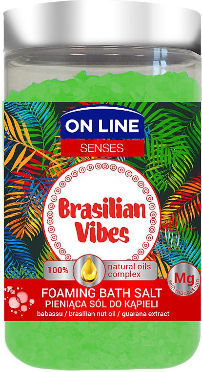 Соли за вана - On Line Senses Bath Salt Brasilian Vibes