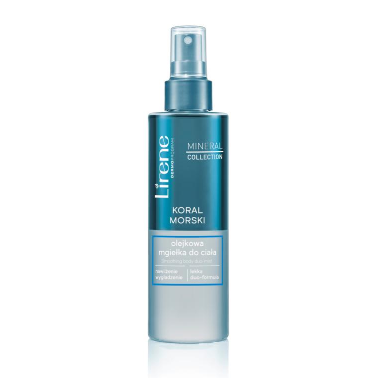 """Двуфазен спрей за тяло """"Минерали от Мъртво море"""" - Lirene Mineral Collection Body Spray"""