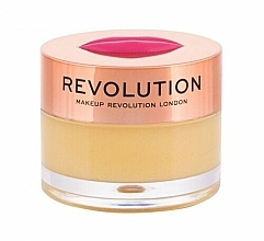 Парфюмерия и Козметика Балсам-маска за устни със сок от ананас - Makeup Revolution Kiss Lip Balm Pineapple Crush