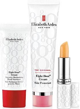 Комплект - Elizabeth Arden Eight Hour Cream Original Set (b/cr/50ml + l/balm/3,7g + h/cr/30ml) — снимка N1