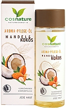 Парфюмерия и Козметика Масло за тяло с бадем и кокос - Cosnature Aromatherapy Body Oil Almond & Coconut