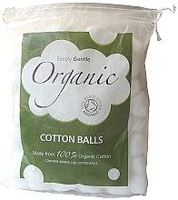 Парфюмерия и Козметика Памучни топчета - Simply Gentle Organic Cotton Wool Balls