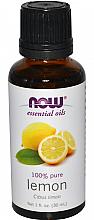 Парфюмерия и Козметика Етерично масло от лимон - Now Foods Essential Oils 100% Pure Lemon