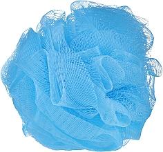 Парфюмерия и Козметика Гъба за баня в син цвят - IDC Institute Design Mesh Pouf Bath Sponges