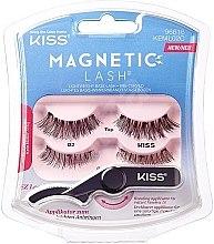 Парфюмерия и Козметика Магнитни изкуствени мигли - Kiss Magnetic Lash Type 2