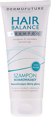Възстановяващ шампоан за тънка и слаба коса - DermoFuture Hair Balance Shampoo — снимка N1