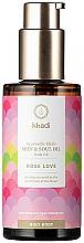 Парфюмерия и Козметика Аюрведическо масло за тяло - Khadi Ayurvedic Elixir Skin & Soul Oil Rose Love