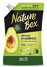 Парфюмерия и Козметика Шампоан за коса с масло от авокадо - Nature Box Avocado Oil Shampoo Refill Pack (пълнител)