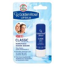 Парфюми, Парфюмерия, козметика Балсам за устни - Golden Rose Lip Balm Classic SPF15