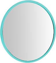 Парфюмерия и Козметика Компактно кръгло огледало, 7 см, зелено - Donegal