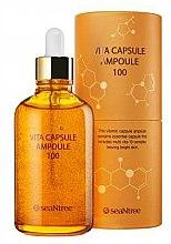 Парфюми, Парфюмерия, козметика Мултивитаминен серум за лице - Seantree Vita Capsule Ampoule 100