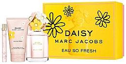 Парфюмерия и Козметика Marc Jacobs Daisy Eau So Fresh - Комплект (edt/125ml + edt/10ml + b/lot/150ml)