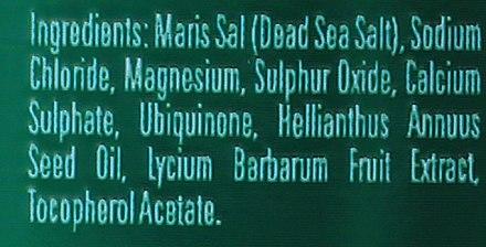 Спа сол от Мъртво море с коензим Q10 и зехтин - BingoSpa Salt For Bath SPA of Dead Sea — снимка N2