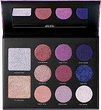 Парфюмерия и Козметика Палитра за грим - Milani Gilded Violet Hyper-pigmented Eye & Face Palette