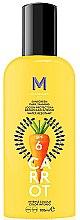 Парфюми, Парфюмерия, козметика Слънцезащитен крем за тъмен тен - Mediterraneo Sun Carrot Sunscreen Dark Tanning SPF6