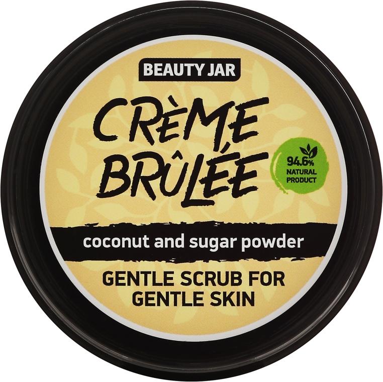 """Деликатен скраб за лице за чувствителна кожа """"Creme brulee"""" - Beauty Jar Gentle Scrub For Gentle Skin"""