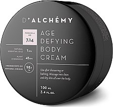 Парфюмерия и Козметика Крем за тяло - D'Alchemy Age Defying Body Cream