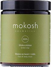 """Парфюми, Парфюмерия, козметика Маска за лице и тяло """"Зелена глина"""" - Mokosh Cosmetics Green Clay Face and Body Mask"""