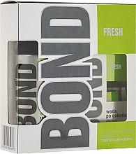 Парфюми, Парфюмерия, козметика Комплект дезодорант и афтършейв лосион - Bond Fresh (deo/150ml + ash/lot/100ml)