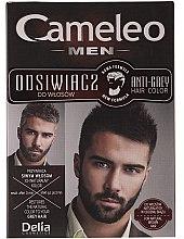 Парфюми, Парфюмерия, козметика Мъжка боя за коса - Delia Cameleo Men Anti Grey Hair Color