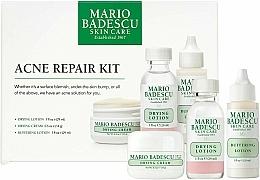 Парфюмерия и Козметика Комплект - Mario Badescu Acne Repair Kit (лосион/2x29ml+крем/14g)