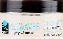 Парфюмерия и Козметика Восък за коса с матиращ ефект - Allwaves Matt Hair Wax