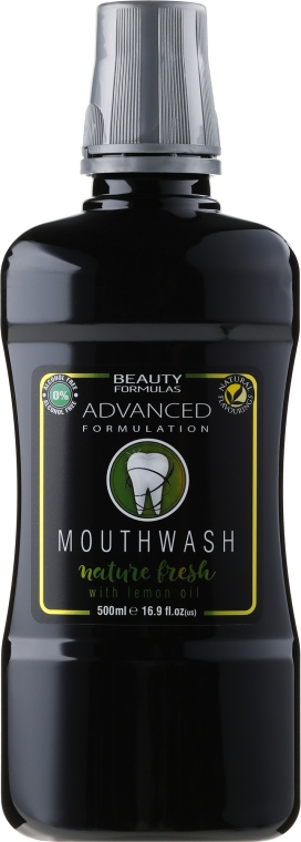Почистваща вода за уста - Beauty Formulas Active Oral Care Mouthwash Nature Fresh