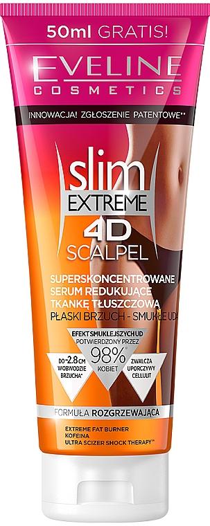 Антицелулитен концентриран серум - Eveline Cosmetics Slim Extreme 4D Scalpel