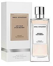 Парфюмерия и Козметика Angel Schlesser Les Eaux d'un Instant Vibrant Sandalwood - Тоалетна вода