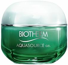 Парфюмерия и Козметика Хидратиращ гел за лице - Biotherm Aquasource Gel