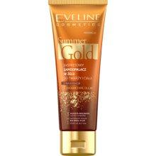 Парфюми, Парфюмерия, козметика Гел автобронзант за лице и тяло 3в1, тъмен - Eveline Cosmetics Summer Gold Gel
