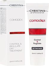 Парфюмерия и Козметика Дневен регулиращ гел за лице - Christina Comodex Control&Regulate Day Treatment