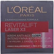 Парфюми, Парфюмерия, козметика Дневен крем за лице - L'Oreal Paris Revitalift Laser X3 Anti-Age Day Cream