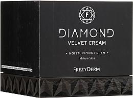 Парфюмерия и Козметика Хидратиращ крем за лице - Frezyderm Diamond Velvet Moisturizing Cream For Ripe Skin