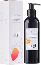 Парфюмерия и Козметика Натурален лосион за тяло с масло от манго и чиа - Hagi